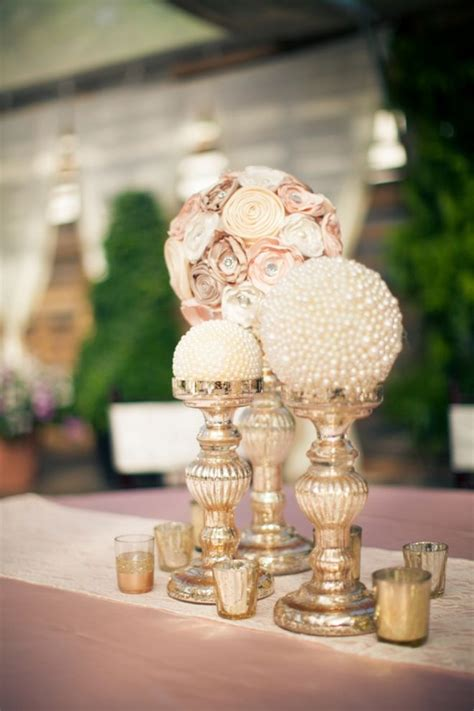 Handmade Centerpiece Ideas - 20 inspiring vintage wedding centerpieces ideas