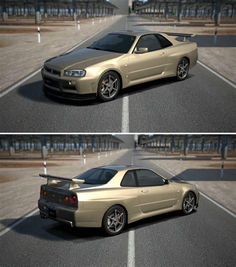 Skyline Garage Prices by Nissan Skyline Gt R M Spec R34 01 By Gt6 Garage On