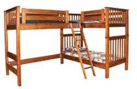 Amish Bunk Beds With Stairs Amish Built Bunk Beds My