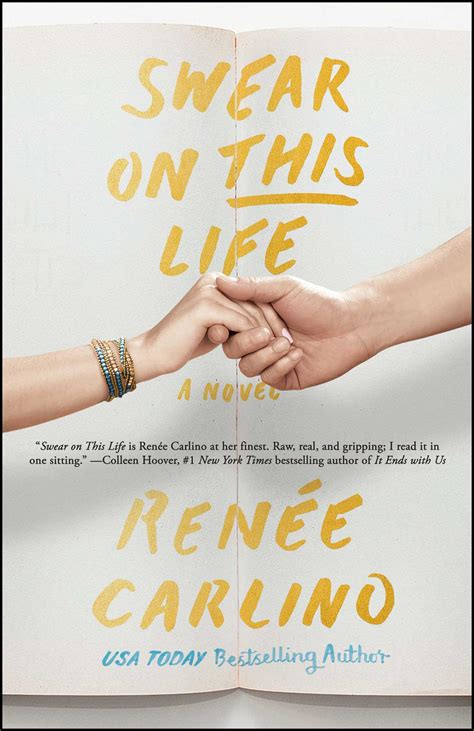 swear on this a novel swear on this book by ren 233 e carlino official