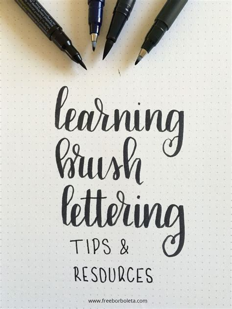 Lettering Font Ideas