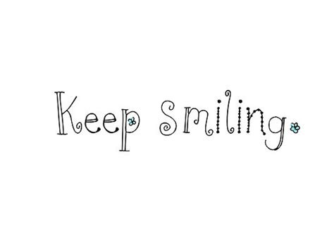 keep smiling white smile quotes cover photos wallpapers for