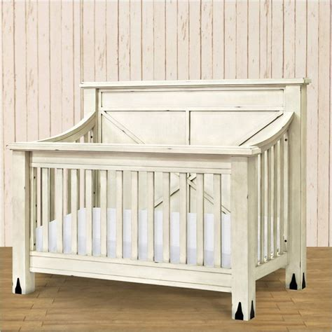 Distressed Baby Cribs Franklin Ben Providence 4 In 1 Crib In Distressed White Baby Needs Crib