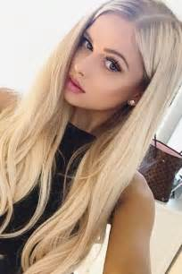 pictures of girl hairstyles with blond on top and dark bottom best 25 blonde hairstyles ideas on pinterest blonde