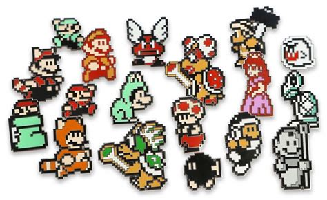 Mario Bros 3 Dot Pin Set by It S Going To Be To Resist These Mario 3 Pin