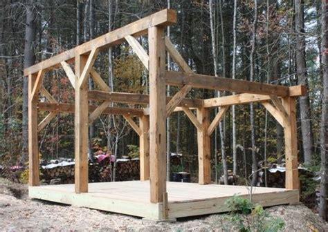 timberframe woodshed woodshed wood shed firewood shed