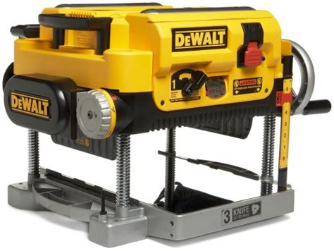 best bench top planer factory reconditioned dewalt dw735r heavy duty 15 amp 13