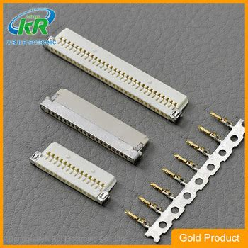 lcd 20 pins two ends 150mm cable hrs df19 connector 1 00mm pitch board to board socket 1 00mm