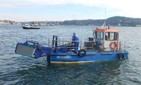 trash boat water mavi deniz environmental protection co mavideniz