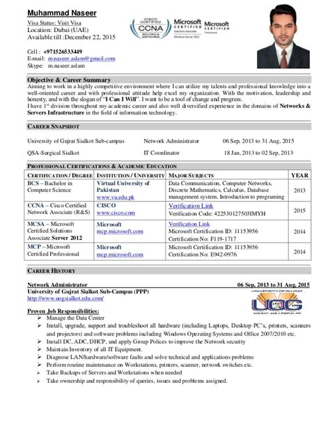System Administrator Resume Objective by It Administrator Resume