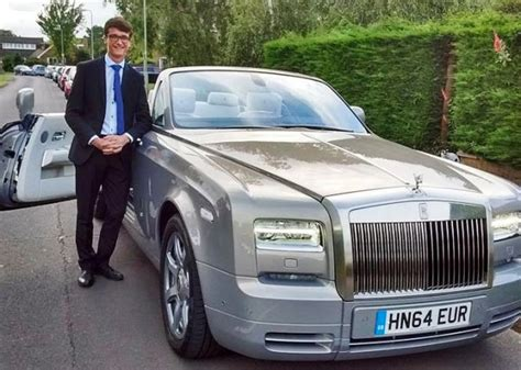 kid scores big with rolls royce ghost for prom 95 octane