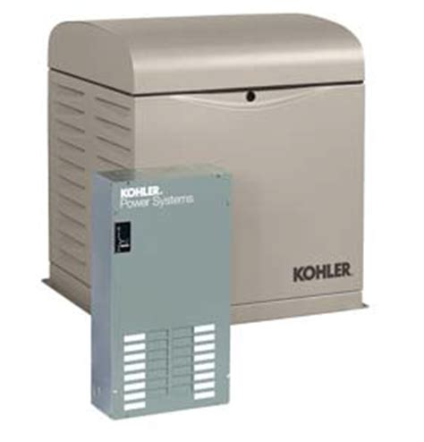 kohler 8kw 8resvl residential standby generator with