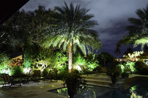 Landscape Lighting Companies Landscape Lighting Installation Plant Professionals Miami Fl