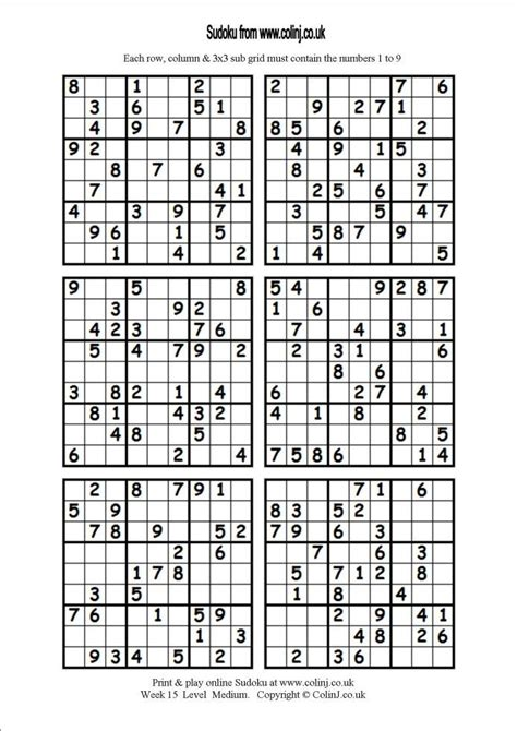 sudoku printable easy 6 per page 17 migliori immagini su classroom su pinterest studente