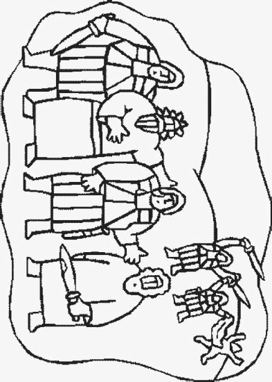 coloring page jesus arrested how to draw jesus arrested