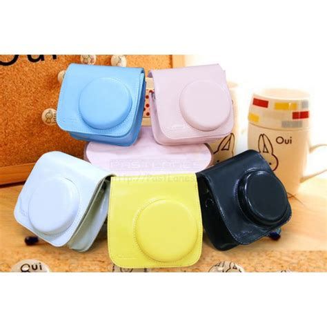 Fujifilm Leather Bag Polaroid Instax Mini 8 Hello Diskon leather bag for instax mini 8