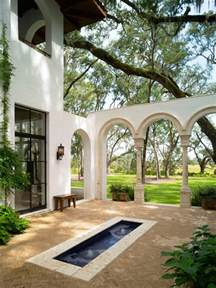 10 spanish inspired outdoor spaces hgtv spanish house plans spanish colonial style house plans