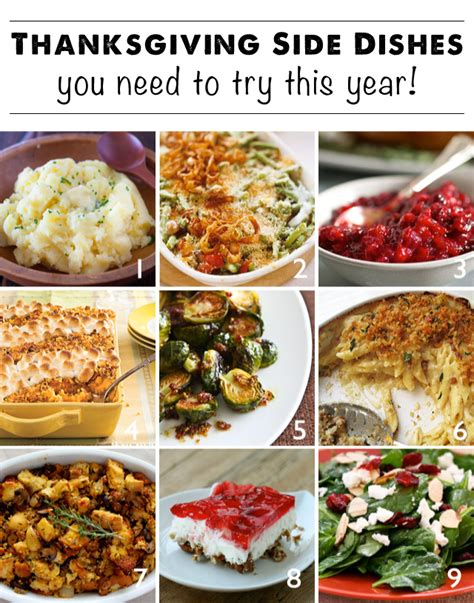 thanksgiving side dishes thanksgiving side dish round up modern parents messy kids