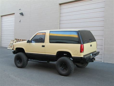 Power Lifier Blazer X4 1992 chevy blazer lift new tires 4x4 power everything