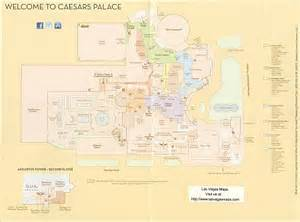caesars palace property map las vegas maps