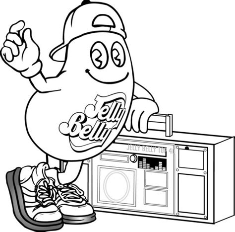 coloring pages of cool stuff coloring page jelly belly candy company