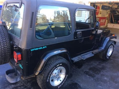 Jeep Wrangler 4 Cylinder 1994 Jeep Wrangler 4 0 6 Cylinder 5 Speed For Sale Jeep
