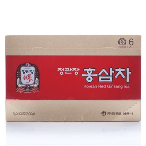 Jual Korean Ginseng Tea purchase cheong kwanjang by korea ginseng corporation korean ginseng tea 3g 215 100 packets