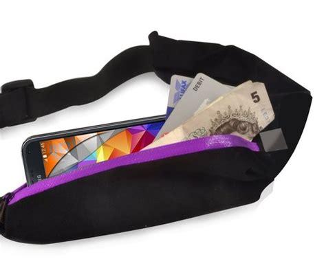 Waist Carrier Purple pouches belt clip cases gadgets 4 geeks