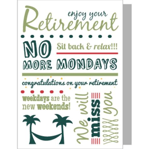Retirement Card Template by Flower Delivery By Arena Flowers Free Next Day Delivery