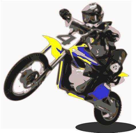 vector graphic enduro motorbike motorcycle bike