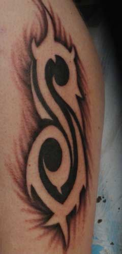 slipknot tribal s tattoo slipknot by anthony lawton tattoonow