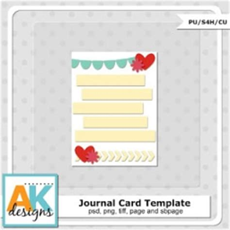 Project Journaling Card Template by Project Freebies 5 22 13 Project Card