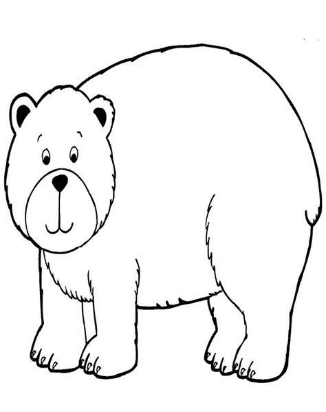 mewarnai gambar beruang ayomewarnai