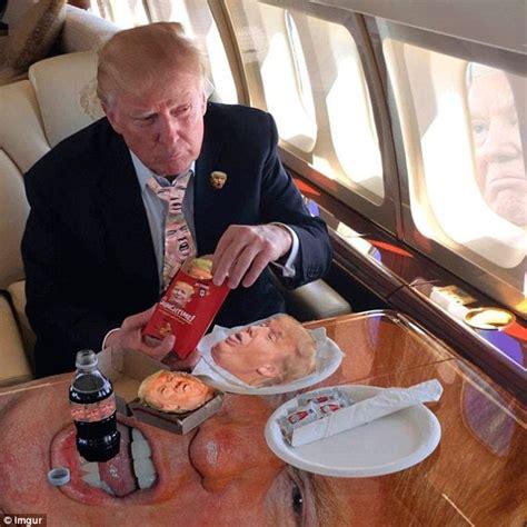 donald trump mcdonalds donald trump s mcdonald s celebration meal sparks a