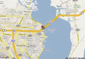 map of bayview inn pensacola