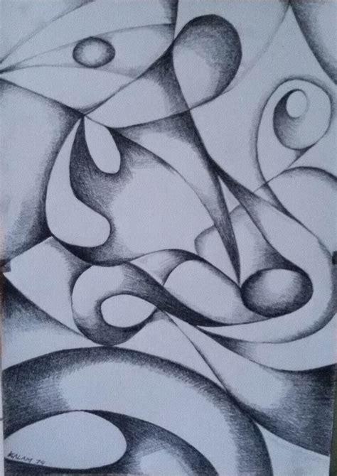 Harga Seni Abstrak Series by Gambar Seni Menggambar Pensil Aimanblog Media 2b Drawing 0