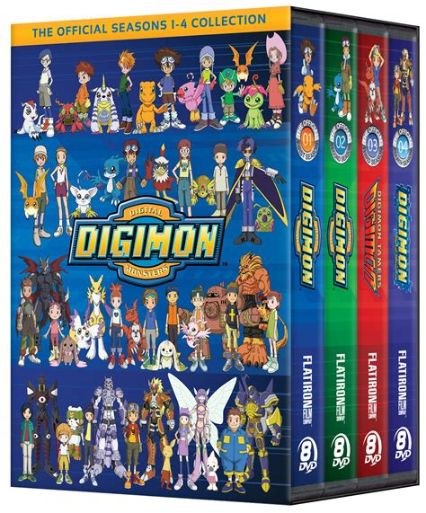 one complete digimon collection seasons 1 4 flatiron company