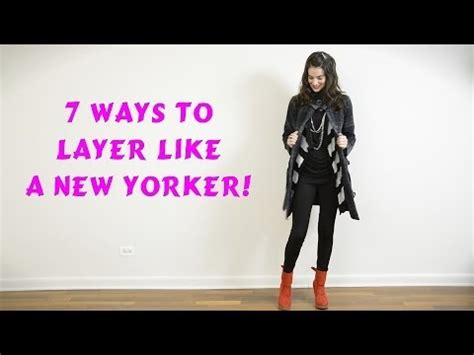 9 Tips On How To Dress On A Plane by How To Layer Clothes Like A New Yorker 7 Ways