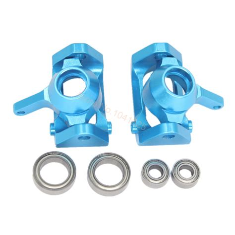 Aluminium Front C Hub Seat For Wltoys A959 A969 A979 A949 for wltoys a959 aluminum front steering hub l r base c carrier a959 05 upgrade parts 1 18 rc car