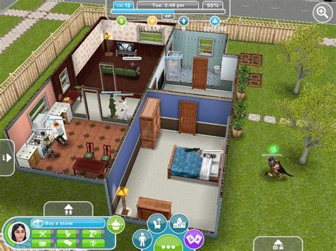jogo home design story the sims freeplay