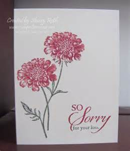 sherry s sted treasures field flowers sympathy card