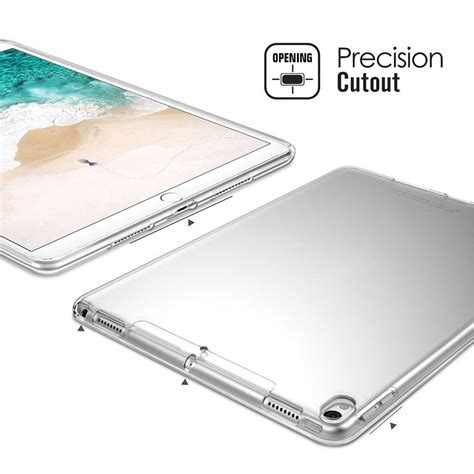 Softjacket Tpu Apple Pro 10 5 Softcase Cover Casing Clear Trans clear transparent soft tpu for pro 10 5 quot sale banggood