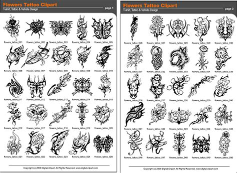 pdf tattoo designs free flash tribal flash designs