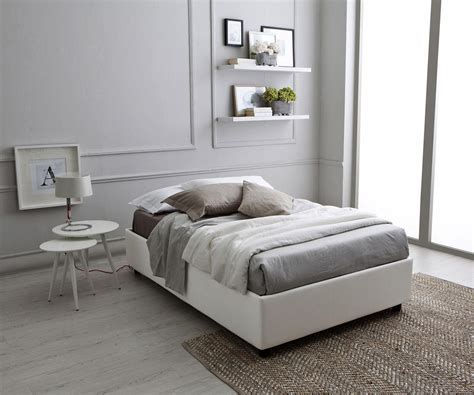 mondo convenienza letto contenitore 1 piazza e mezzo letto sommier a una piazza e mezza 120 con contenitore