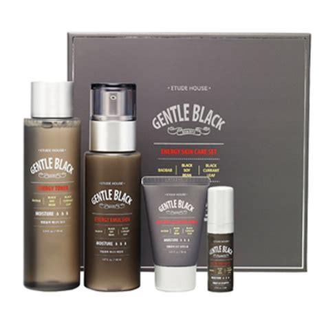 Etude House Gentle Black All In One Fluid For etude house gentle black energt skin care set toner 170ml emulsion 150ml ebay