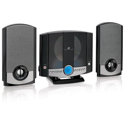 Musik System by Gpx Vertical Home System With Am Fm Cd Hm3817dtblk