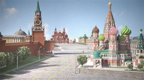 moscow red square russian red square