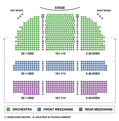 king broadway interactive seating chart broadway theatre broadway seating charts