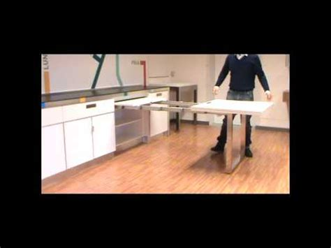 Amish Kitchen Island Atim Dinner Pull Out Drawer Table Youtube