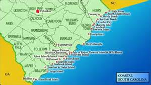 carolina map of coast south carolina state symbols dorchester county library
